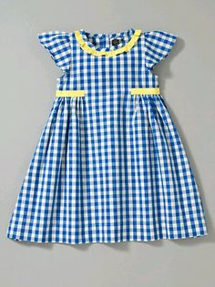 Sewing Baby Dress Pattern Style 64 Ideas For 2019 Toddler Dress, Toddler Outfits, Baby Dress, Kids Outfits, Toddler Girls, Infant Toddler, Frocks For Girls, Little Dresses, Little Girl Dresses