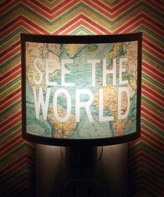 Common Rebels See the World Night-Light