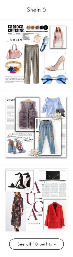 """SheIn 6"" by amina-haskic ❤ liked on Polyvore featuring Giorgio Armani, Vans, Aqua, shein, WALL, Deborah Lippmann and Ciaté"
