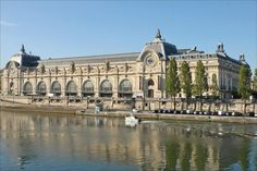 must see in town of love-Paris, France.  The Museum d'orsay