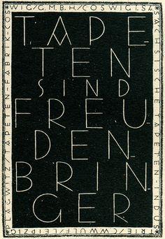 Dore Moenkemeyer-Corty, Tapeten sind Freudenbringer, 1930