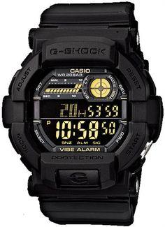 * G-Shock Military Vibration Alert - Black/Gold
