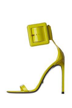 Ankle Buckle Strap Heels
