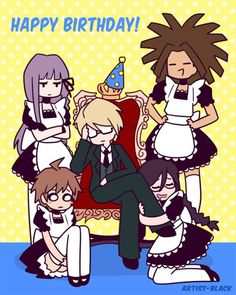 The Naegi Maid XD XD God I'm dying XD Byakuya Togami | Danganronpa