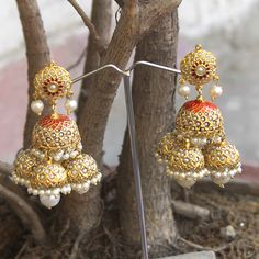 Aryama Earrings by Indiatrend. Shop Now at WWW.INDIATRENDSHOP.COM