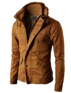Mens High-neck Field Jacket