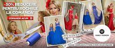 Rochii mama si fiica de la Family Fashion. Fabricat si creat in Romania