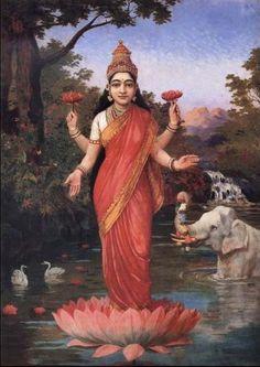 Lui est également associée sa parèdre Lakshmi, une des divinités féminines majeures de la période gupta.