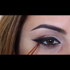 Flawless eye make up tutorial
