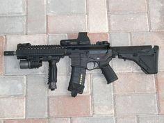Love this build Tactical Equipment, Tactical Gear, Tactical Firearms, Glock Guns, Fire Powers, Assault Rifle, Modern Warfare, Guns And Ammo, Airsoft