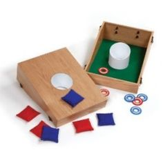 washer toss board game is ideal for gift giving this holiday season!
