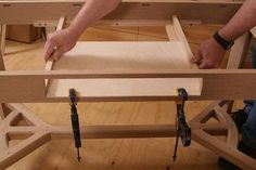 Fitting drawers to a crooked table - Fine Woodworking