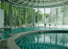 "Spa, Belgium - ""spa"" originated here, natural healing springs Manneken Pis, Bruges, Living In Europe, Ardennes, Thinking Day, Cool Pools, Countries Of The World, Staycation, European Travel"