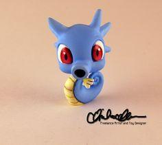 Horsea Pokemon Custom LPS by thatg33kgirl.deviantart.com on @DeviantArt