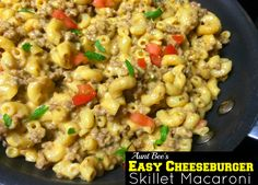Print PDF Good morning! Today I am sharing one of my hubby's all time favorite skillet meals! It is one of the easiest recipes EVER and only 5 ingredients! Quick fix meals like this that use pantry staples are an absolute MUST for our busy family. Raise your hand if you love Velveeta Cheese with …