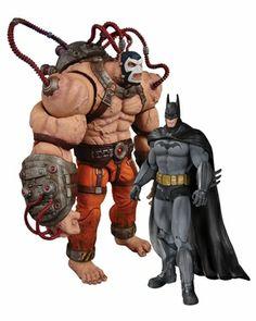 Arkham Asylum Bane vs Batman Action Figure 2 Pack #batman #collectibles http://www.alteregocomics.com/