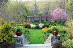 Chanticleer is open to the public Wednesday through Sunday from 10 am until 5pm. 786 Church Road, Wayne, PA 19087-4713 See more: http://www.chanticleergarden.org/garden_guide.html