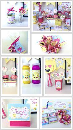 Girls Emoji Party Ideas   Emoji Girls Party   Emoji Girls Birthday Party   Pink Emoji