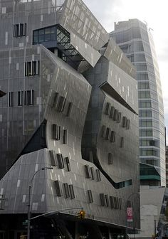 Cooper Union's New Academic Building, designed by Thom Mayne, opened in Summer 2009