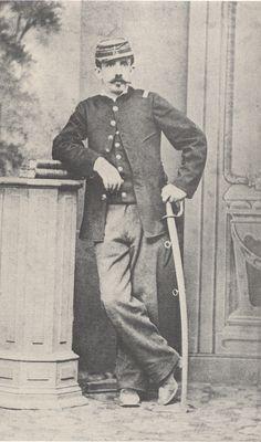 """Ignacio José Carrera Pinto ( * Santiago, 5 de febrero de 1848 - † Concepción (Perú), 9 de julio de 1882). Militar chileno, Capitán de la 4° Compañía del """"Batallón Chacabuco"""" 6º de Línea, muerto al mando de sus hombres en el Combate de Concepción"""