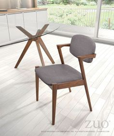Zuo Brickell Dining Chair.