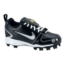 SALE - Womens Nike Unify Softball Cleats Black Leather - Was $49.99 - SAVE $5.00. BUY Now - ONLY $44.99