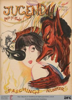 Jugend, German illustrated weekly magazine for art and life, Volume 31.1, 1926.