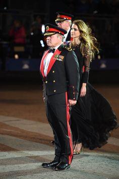 6 August 2016 - King Abdullah II and Queen Rania at 2016 Edinburgh Military…