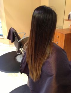 Ombre hair color ❤️