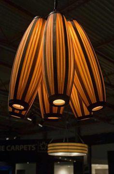 Wood Veneer Lighting Fixtures