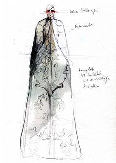 Fashion Sketchbook - fashion design drawing; fashion collection development; fashion portfolio // Maria Piankov