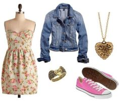 Fashion Challenge:Sneakers with a Skirt or Dress