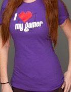 J!NX : Video Game T-Shirts - I Love my Gamer Women's Tee