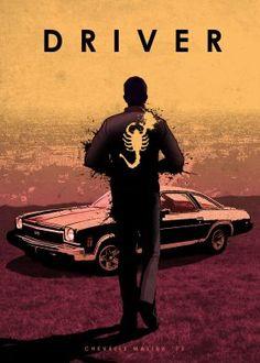 prints on metal Movies & TV car cars legend chevrolet chevelle malibu ss ryan gosling drive