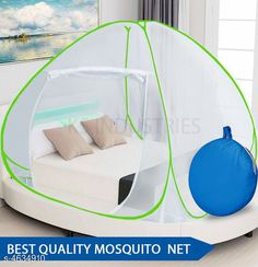 Mosquito Protection Fancy Cotton Polyester Foldable Double Bed Mosquito Net Material: Polyester Size: (L X W X H) - 78 x 78 x 60 Inch Description: It Has 1 Piece Of Mosquito Net Country of Origin: India Sizes Available: Free Size *Proof of Safe Delivery! Click to know on Safety Standards of Delivery Partners- https://ltl.sh/y_nZrAV3  Catalog Rating: ★3.9 (1145)  Catalog Name: Fancy Cotton Polyester Foldable Double Bed Mosquito Nets Vol 6 CatalogID_672055 C134-SC1629 Code: 248-4634910-
