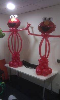 Elmo Sculptures