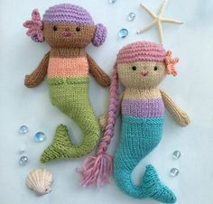 Looking for your next project? You're going to love Mermaid Knit Pattern by designer Amy Gaines.