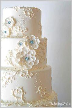 Cake piping