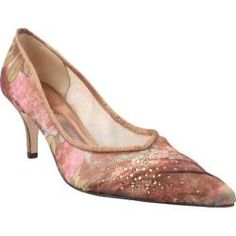 @Overstock - Natasha is a glamorous mid-heel pump with sheer fabric over mesh with rhinestone accents and a pointed toe.http://www.overstock.com/Clothing-Shoes/Womens-J.-Renee-Natasha-Blush-Multi-Fabric-Mesh/7192731/product.html?CID=214117 $56.95
