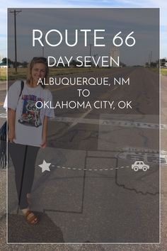 7/14 days of Route 66. Albuquerque, NM to Oklahoma City, OK — halfway there! #route66 #roadtrip | maddily