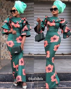 Ankara Splash Of Colors: Style Up Your Next Owambe With These Eye-Popping Ankara Fashion Nigerian Dress Styles, Ankara Long Gown Styles, Lace Dress Styles, Latest Ankara Styles, African Fashion Ankara, Latest African Fashion Dresses, African Print Fashion, Long African Dresses, Long Ankara Dresses