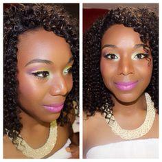 Summer fun makeup look  For bookings email: InnerBeautyOutEL@gmail.com Instagram: InnerBeautyOutEL