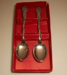 Sweden Vintage Nils Johan Spoons by maddyq on Etsy