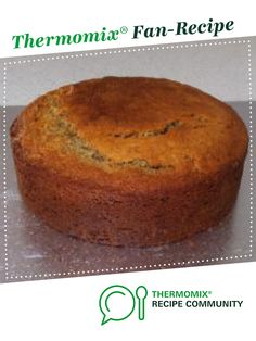 Moist Banana Cake by Ray of Sunshine. A Thermomix <sup>®</sup> recipe in the category Baking - sweet on www.recipecommunity.com.au, the Thermomix <sup>®</sup> Community.