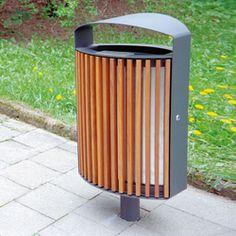 Exterior bins-Street furniture-lena Litter bin-mmcité