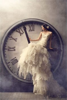 wedding dressses, dream, weddings, gowns, dresses, dress wedding, clocks, tick tock, photography