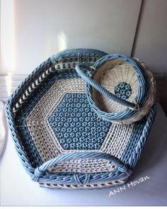 Новости Wicker Tray, Weaving, Basket, Home Decor, Paper Envelopes, Decoration Home, Room Decor, Loom Weaving, Crocheting