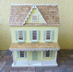 Yellow farmhouse