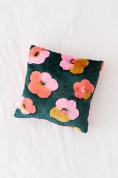 Shop Penny Floral Faux Fur Throw Pillow at Urban Outfitters today. We carry all the latest styles, colors and brands for you to choose from right here.