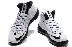 quality design 6cede 93390 Discount Nike Zoom Lebron 10 Basketball Shoes White Red Black Sale Online  for Sale Discount Nike